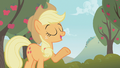 Applejack tells Apple Bloom that she was the last one in the class to get her cutie mark S1E12.png