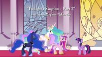 Celestia -is aware that a fourth Alicorn princess exists- S4E26
