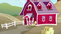 Distance view of Granny Smith napping S9E23