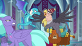 Ember facing off with Grampa Gruff S8E2.png