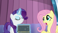 Fluttershy --they all sort of look the same-- S6E1