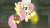 Fluttershy grabs the Truth Talisman S9E21