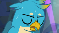 Gallus sweating and out of breath S8E22
