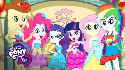 MLP Equestria Girls - 'A Photo Booth Story' Canterlot Short