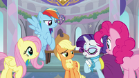 Main five agreeing to help Twilight S8E1