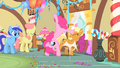 Pinkie Pie Cartwheeling her way out S1E22.png