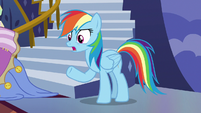"Rainbow Dash ""trying to tell me how cool I am!"" S7E14"
