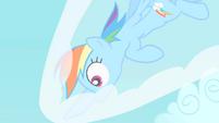 Rainbow Dash comes to a halt S1E16