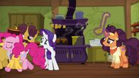 "Rarity ""Zesty will hate it!"" S6E12"