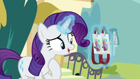 "Rarity ""we just went to the Crevasse"" S9E19"
