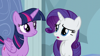 "Rarity ""what are we doing to do?"" S5E5"
