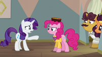 Rarity --you are going to ruin this for them!-- S6E12