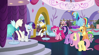 Rarity -And while I do agree that this dress has potential- S5E14