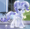 Rarity Crystal Pony ID S3E01