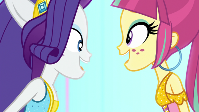 "File:Rarity and Sour sing ""and it's electric"" EGS1.png"