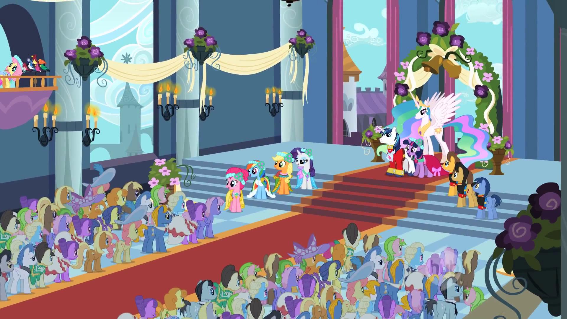 Royal Wedding Crowd S2e26 Png