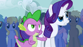 Spike and Rarity disapproving S1E6.png