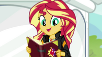 "Sunset Shimmer ""stay for a few more days"" EGS3"