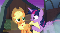 "Twilight ""stars can move slowly over time"" S8E21"