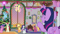 Twilight dismisses the students for vacation S8E16