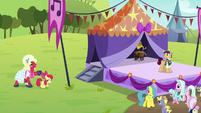 Apple Bloom and Orchard Blossom appear S5E17