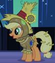 Applejack Nightmare Night costume ID S2E4