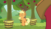 Applejack looking proud of herself S9E10