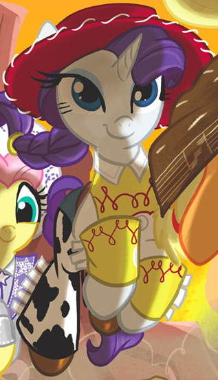 image comic issue 25 rarity as jessie png my little pony