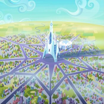 Crystal Empire with stadium S03E12