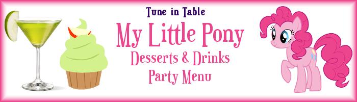 FANMADE Pinkie Pie menu header