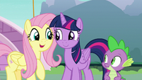 "Fluttershy ""how much she's appreciated"" S8E18"