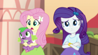 Fluttershy -Rarity and I followed Chestnut- EGS2