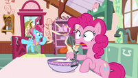 Mrs. Cake bursts into the kitchen S9E13