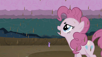 Pinkie Pie chocolate rain S02E02