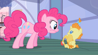 Pinkie Pie listen now! S2E13