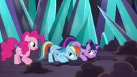 Pinkie Pie volunteering to help S9E2