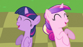 Princess Cadance & young Twilight laughing S2E25.png