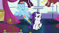 "Rainbow ""hang out with the Wonderbolts"" S5E15"