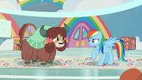 "Rainbow ""the key to this one is speed!"" S9E7"