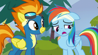 "Rainbow ""you guys all called me Rainbow Crash"" S6E7"