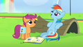"Rainbow Dash ""I am pretty good at napping"" S7E7.png"