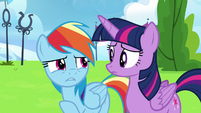 "Rainbow Dash ""when I was watching Sky"" S6E24"