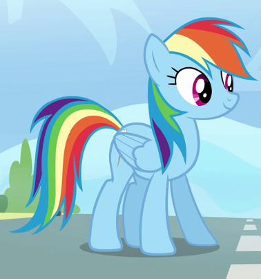Gambar Rainbow Dash My Little Pony Ar Production