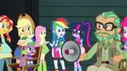 Rainbow Dash interrupts the latest film take EGS2