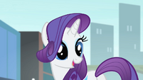 Rarity 'I gave some designs...' S4E08