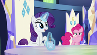Rarity --we spent much of yesterday-- S5E22