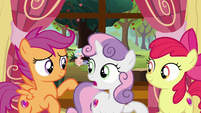 Sweetie Belle -go see what's wrong- S8E12
