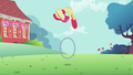 Apple Bloom performs tricks with her hoop S2E06.png