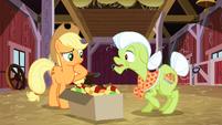 Applejack and Granny Smith S3E09