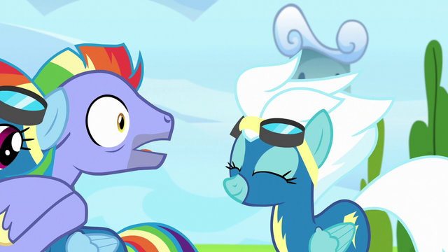 File:Bow Hothoof shocked by Fleetfoot's compliment S7E7.png